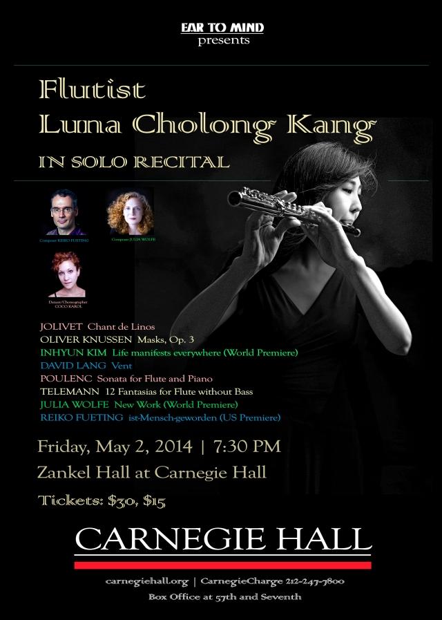 Carnegie Hall-Luna C. Kang